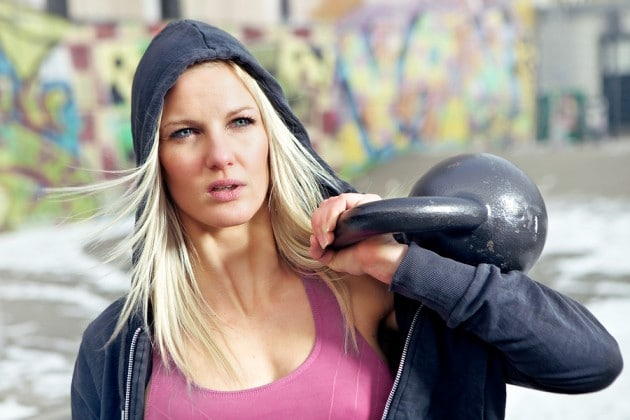 Kettlebell Workouts for Womrn