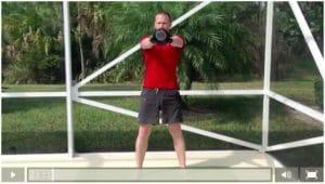 Breath Control Kettlebell Swings Workout