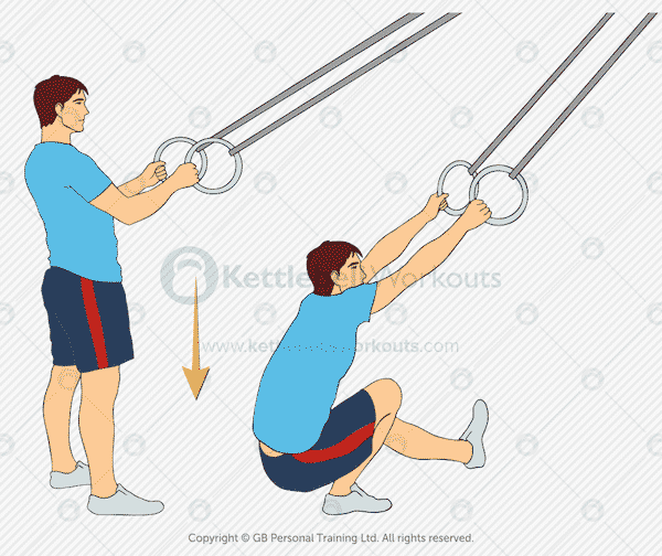 Bodyweight TRX Pistol Squat