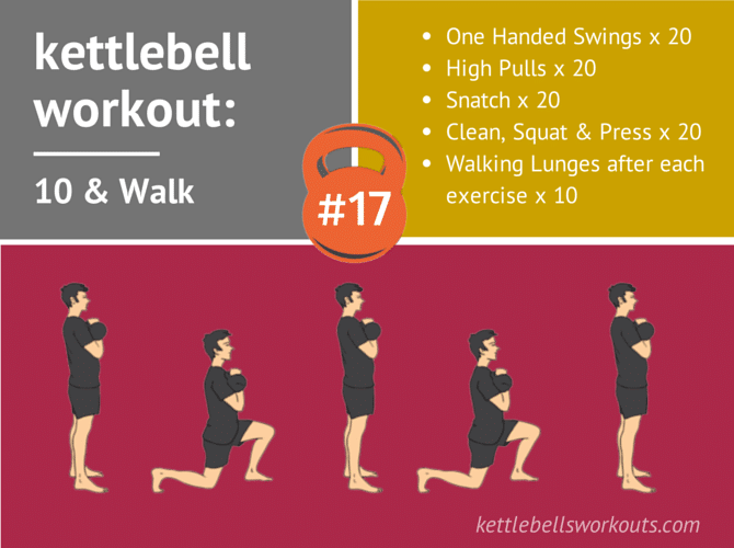Kettlebell Workout 10 & Walk