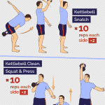 10 and Walk Kettlebell Routine