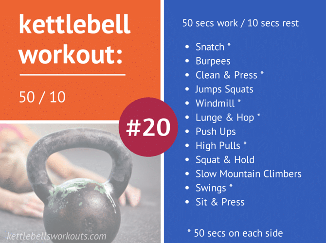 50 - 10 Kettlebell Workout
