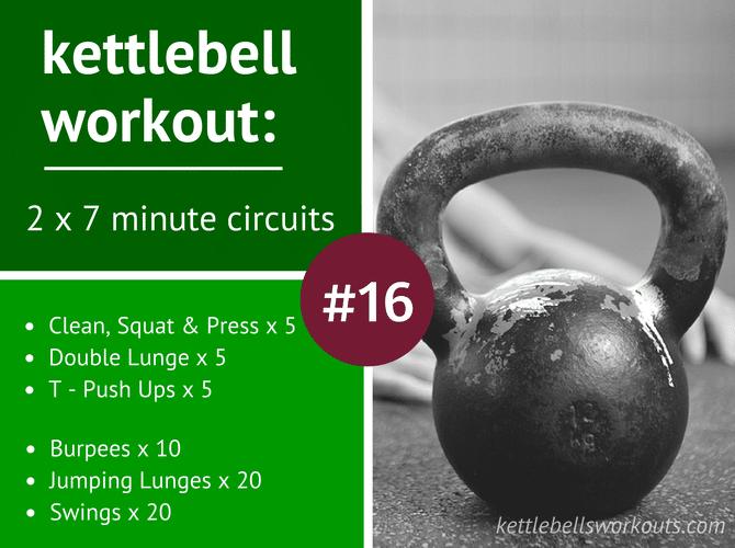 7 minute kettlebell circuits