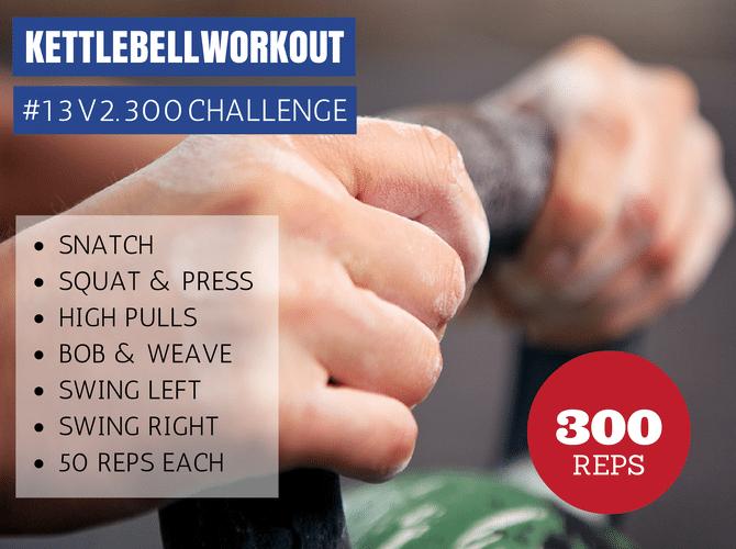 300 V2 Kettlebell Challenge