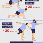 Tabata Time Workout with kettlebells
