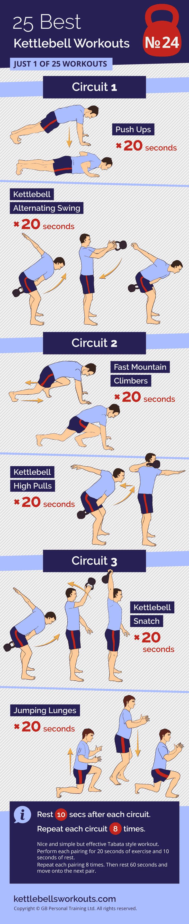 Tabata Time Kettlebell Workout