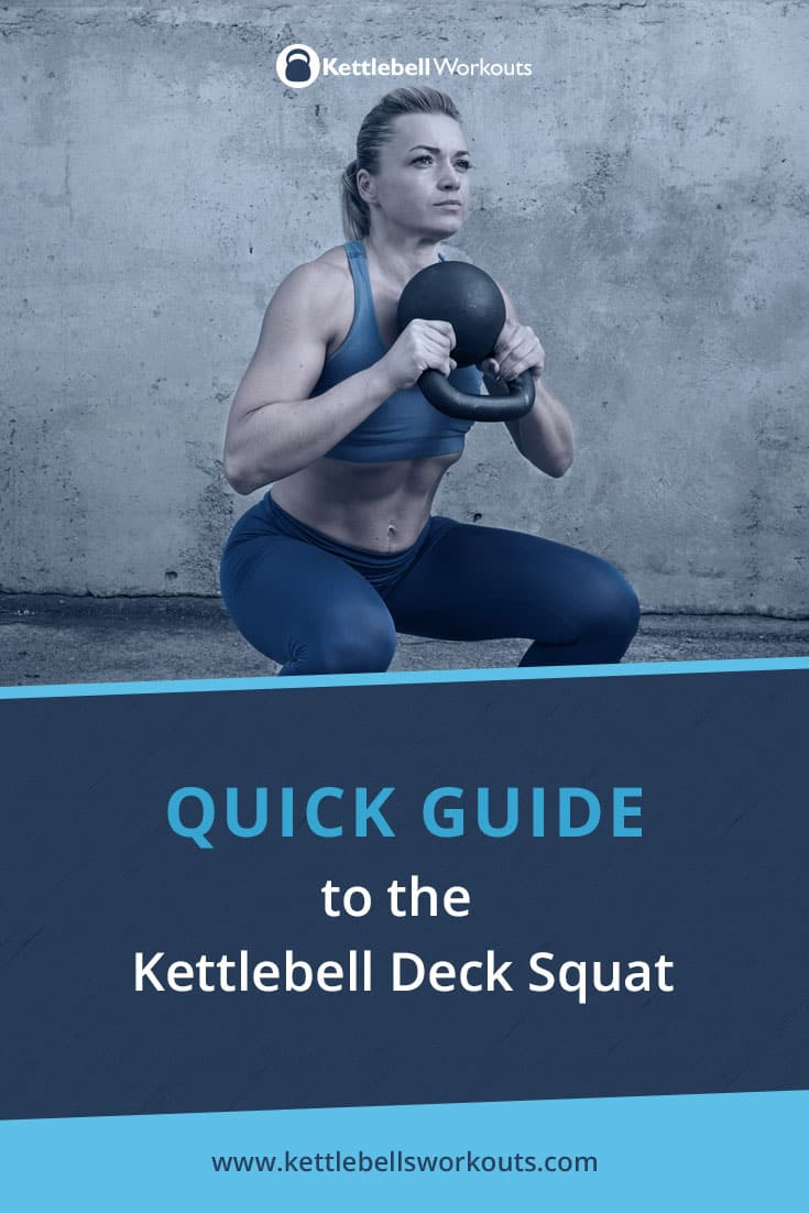 kettlebell deck squat