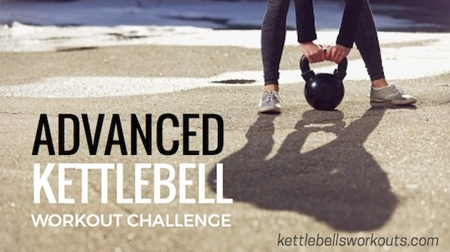 Advanced Kettlebell Workout Challenge