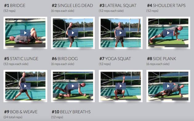 Bodyweight Workout Challenge