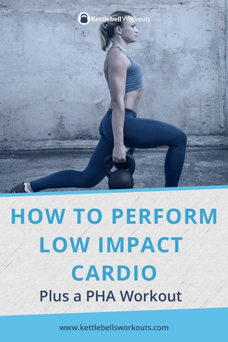 how to perform low impact cardio
