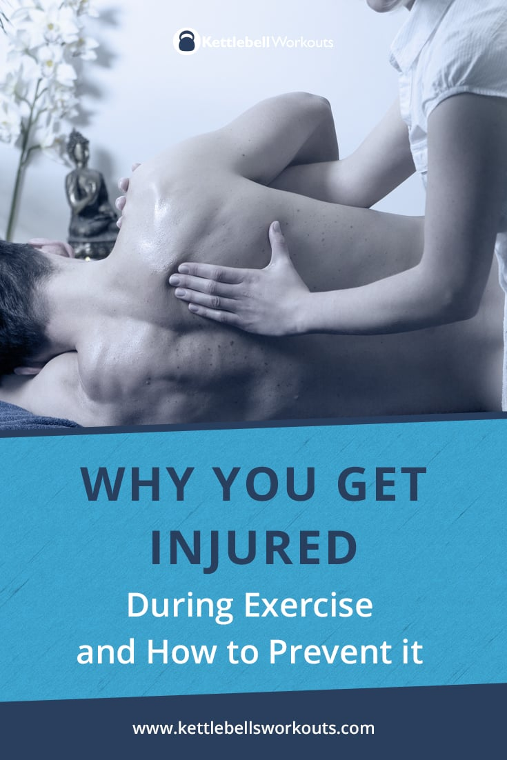 why you get injured during exercise