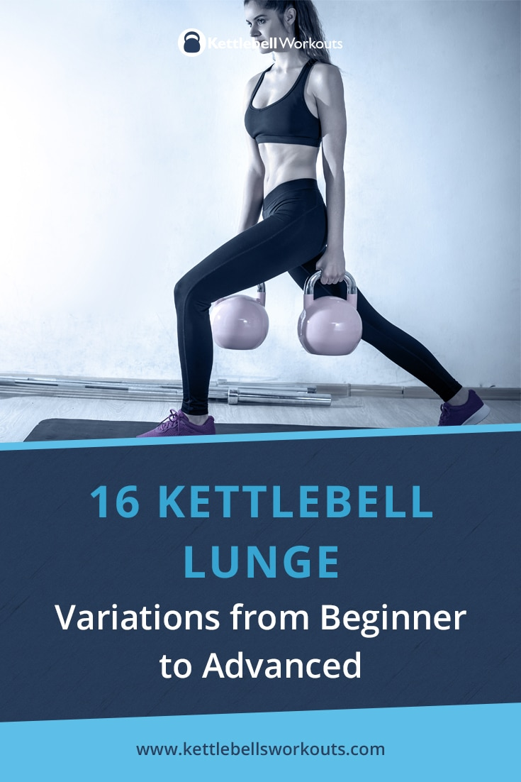 16 Kettlebell Lunge Variations from Beginner to Advanced