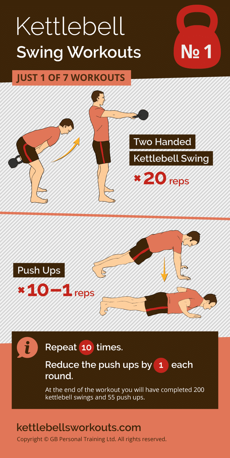 kettlebell swing workout no.1