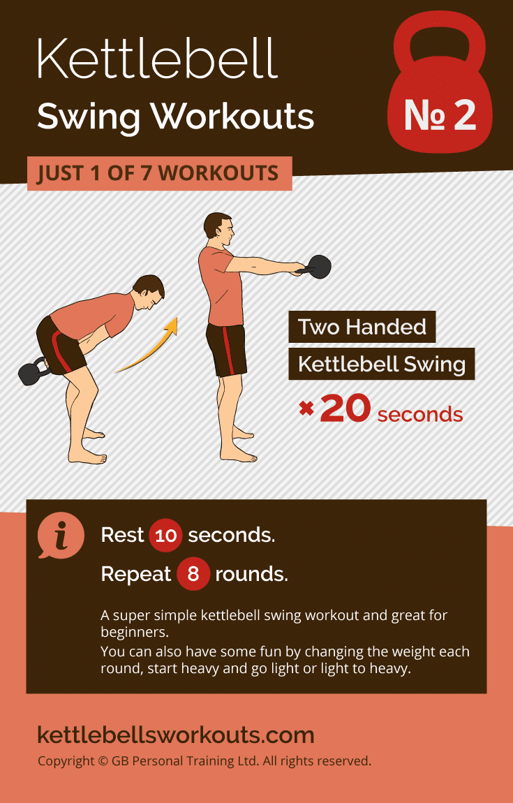 Kettlebell Swing Workout No.2