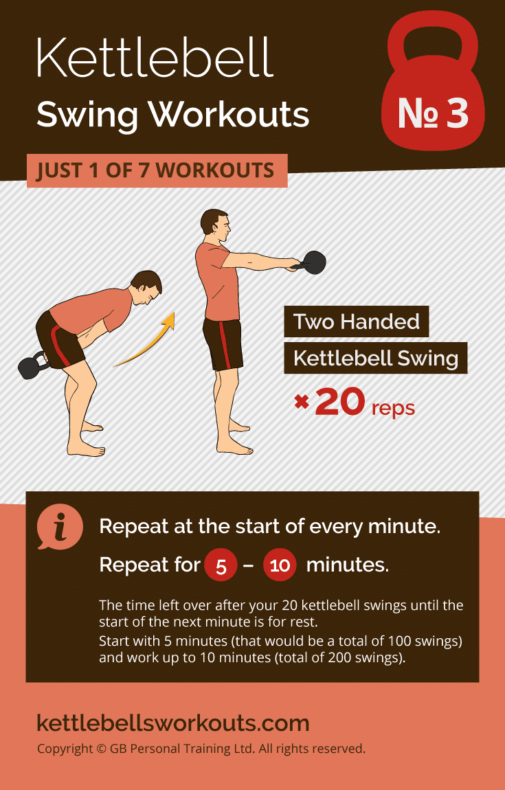 Kettlebell Swing Workout No.3