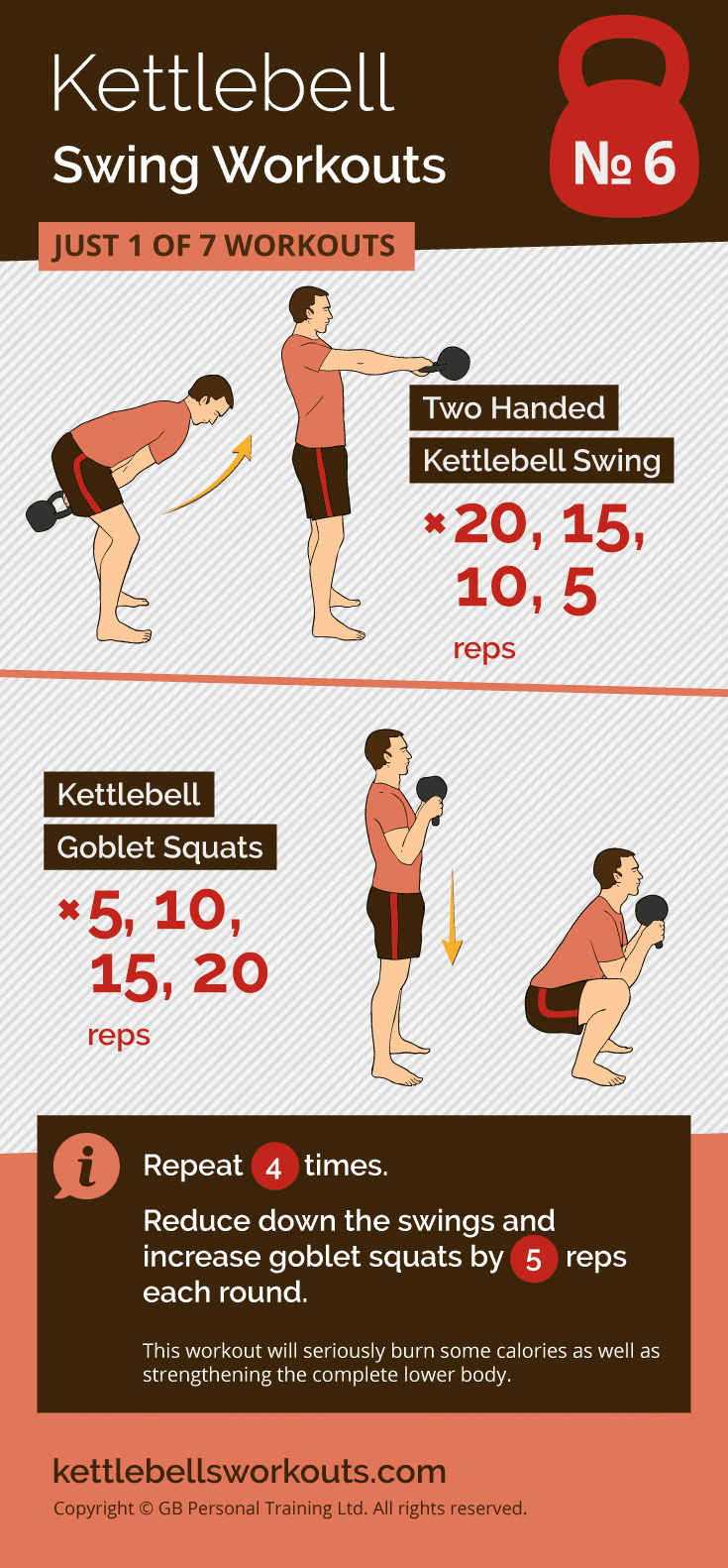 Kettlebell Swing Workout No.6