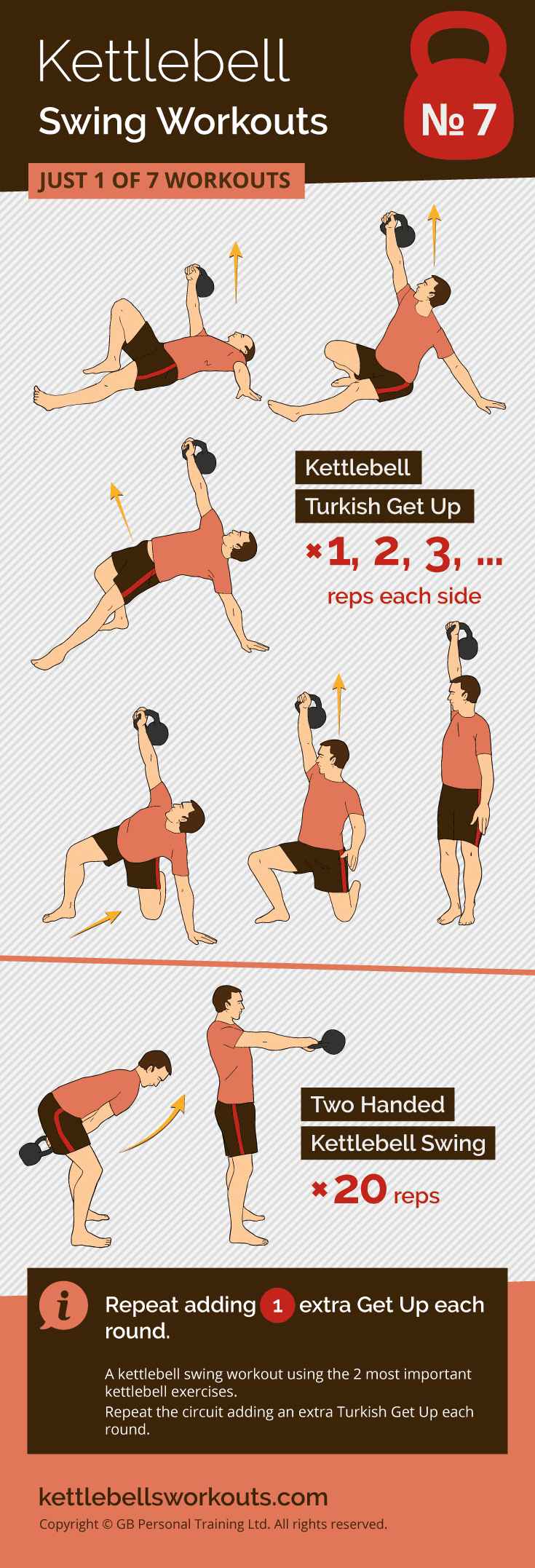 Kettlebell Swing Workout No.7