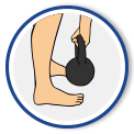 Safely finish the kettlebell swing