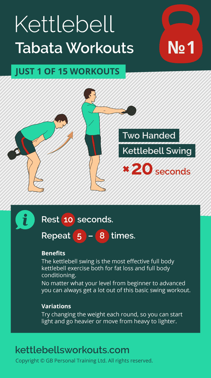 kettlebell tabata workout No. 1