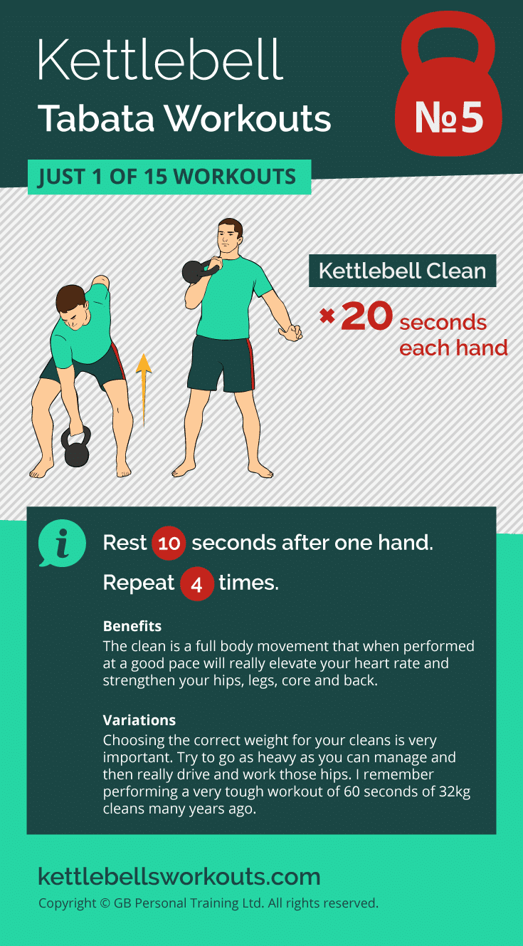 kettlebell tabata workout No. 5