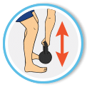 Back injury when picking up the kettlebell