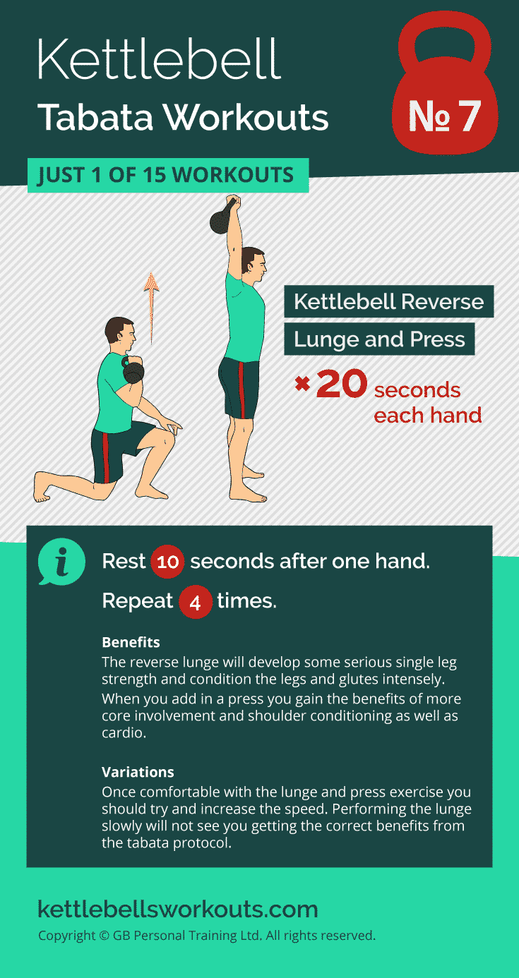 kettlebell tabata workout no.7
