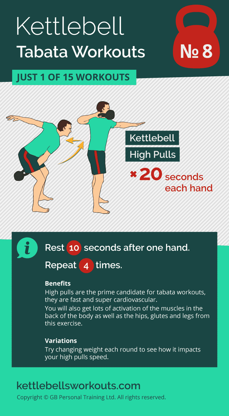 kettlebell tabata workout no.8