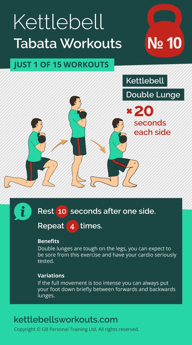 kettlebell tabata workout no.10