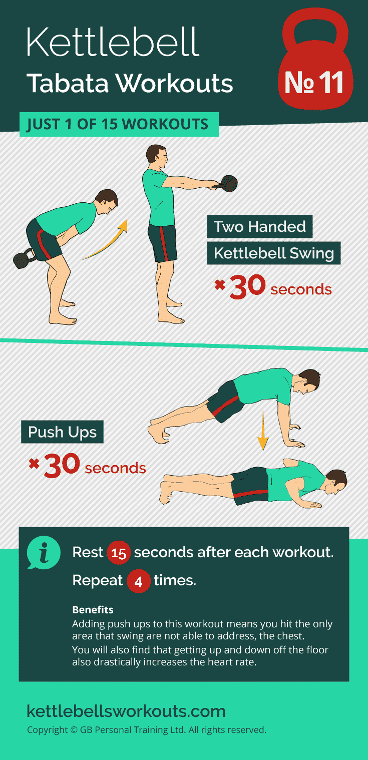 kettlebell tabata workout no.11