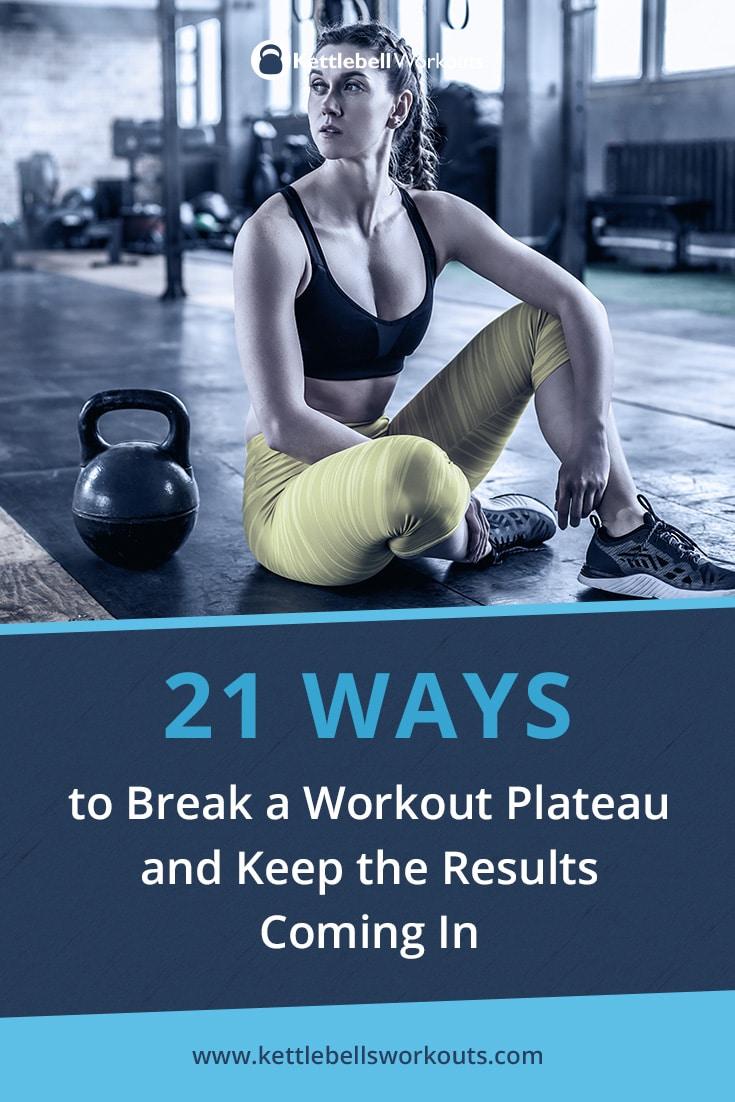 21 Ways to Break a Workout Plateau