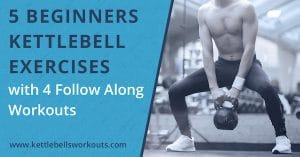5 Beginners Kettlebell Exercises with 4 Follow Along Workouts blog