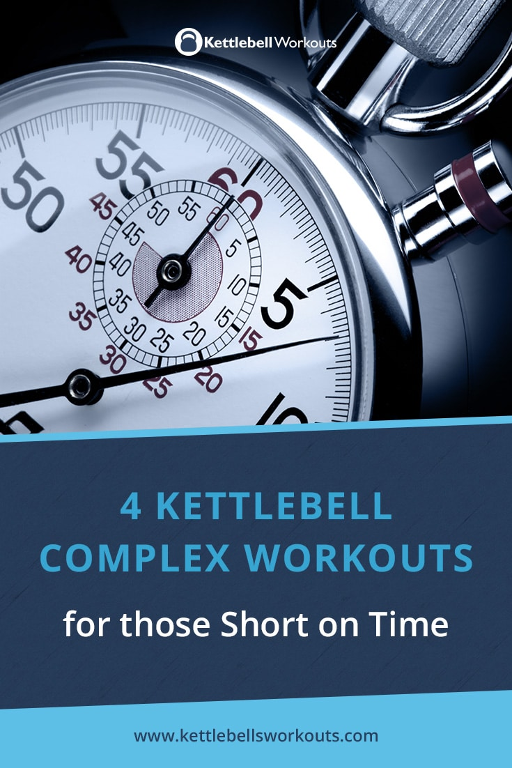 4 Kettlebell Complex Workouts for those Short on Time