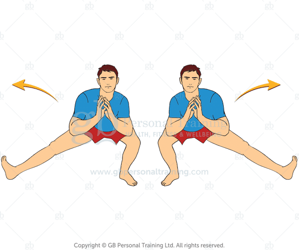 Bodyweight Cossacks Exercise