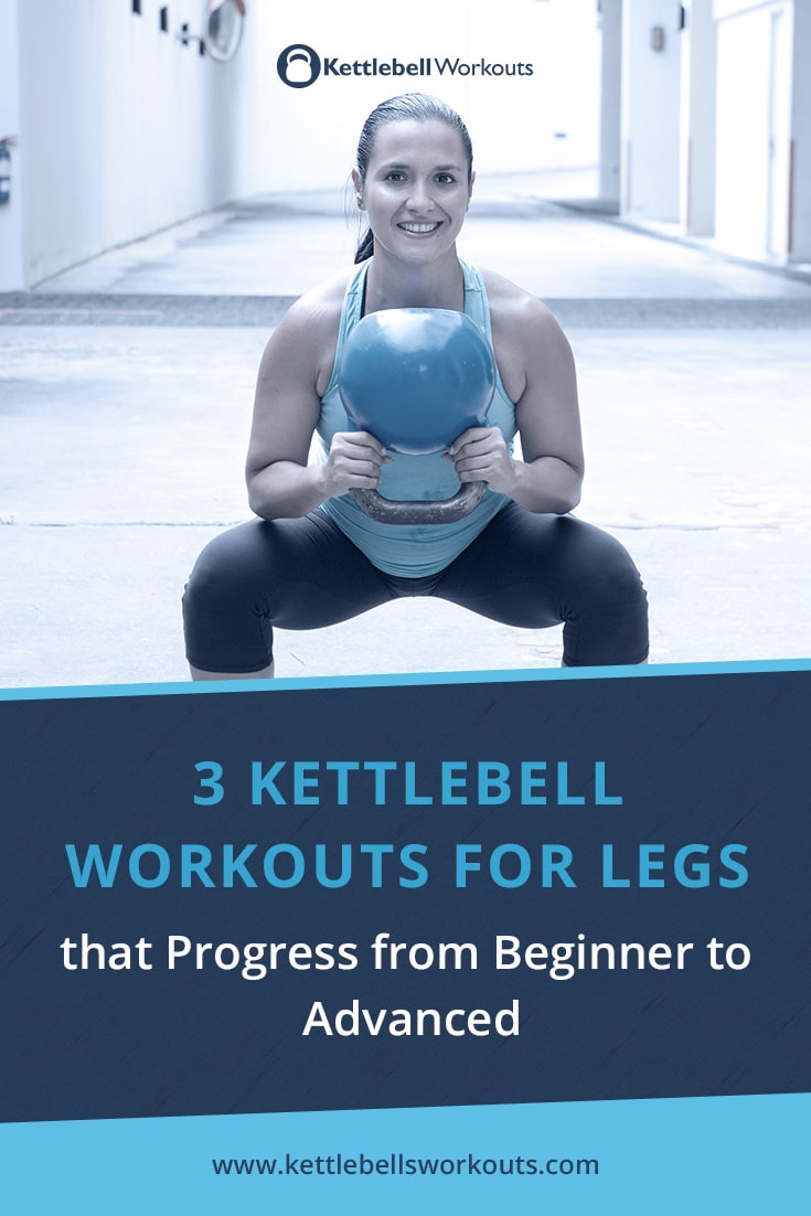 3 Kettlebell Workouts for Legs that Progress from Beginner to Advanced
