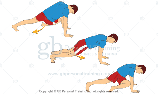 Bodyweight Cross Body Mountain Climbers