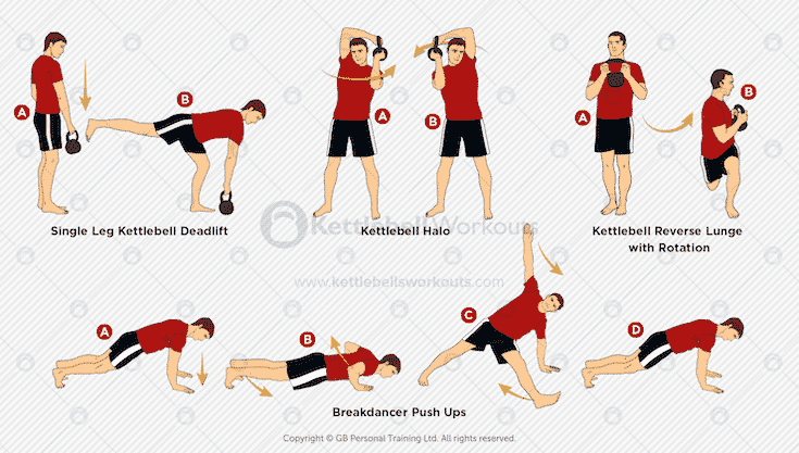 kettlebell workouts for mma fighters