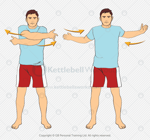 Shoulder Mobility Warm Up Exercise 6