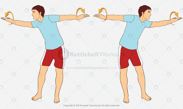 Shoulder Mobility Warm Up Exercise 5
