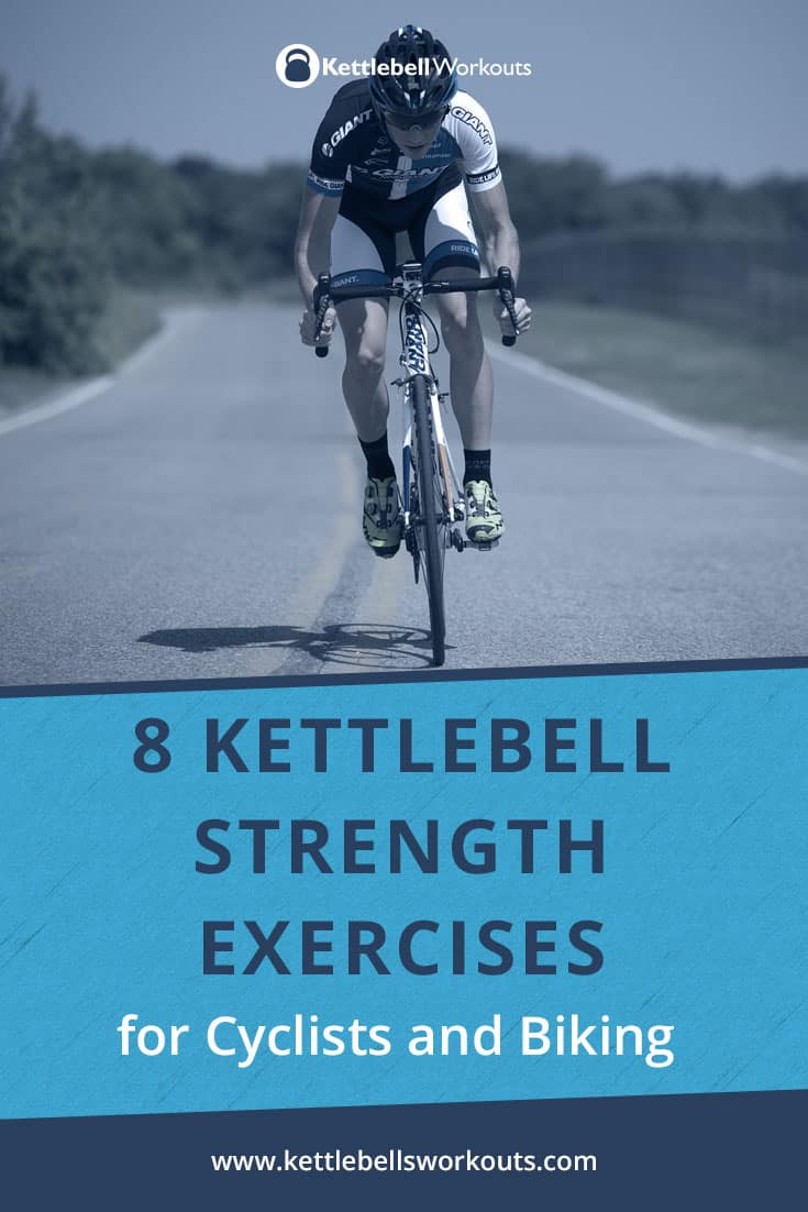 kettlebell strength training exercises for cyclists