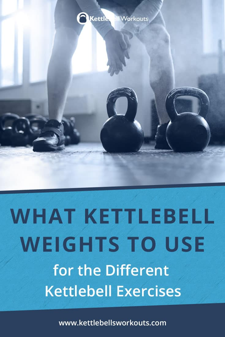 what kettlebell weights to use for different exercises