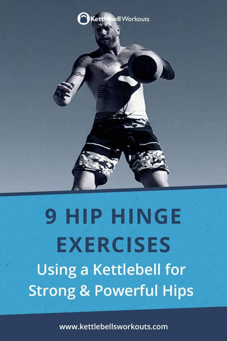 Hip Hinge Exercises with a Kettlebell