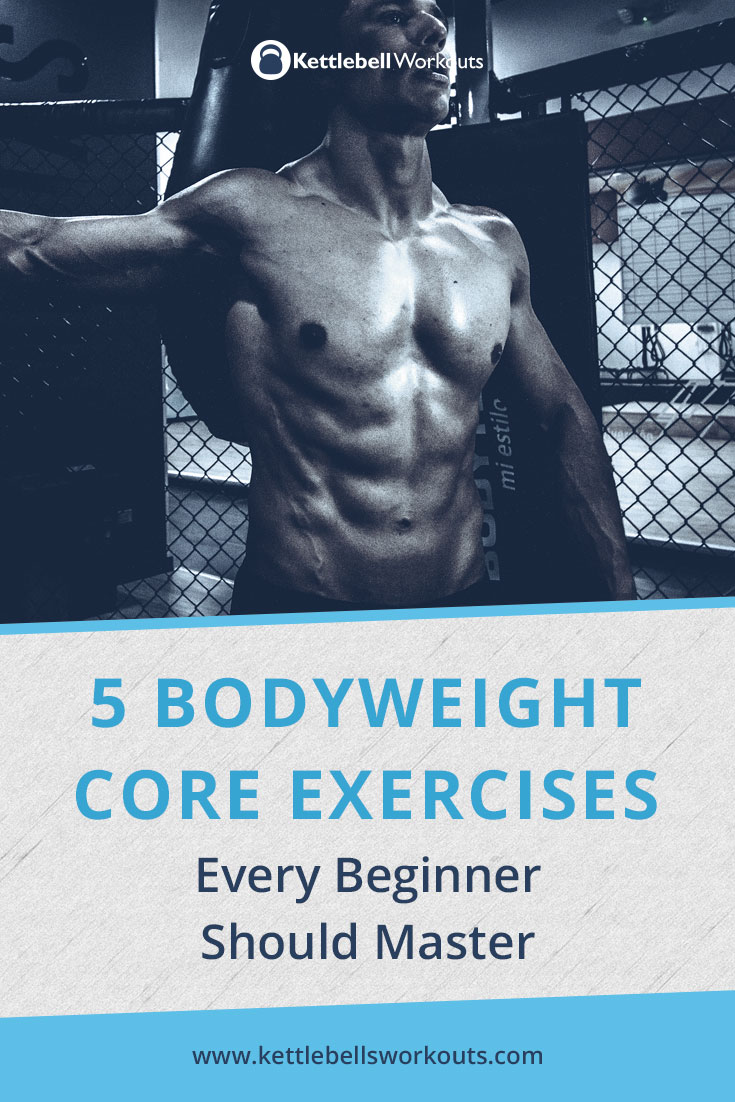 Bodyweight core exercises for beginners
