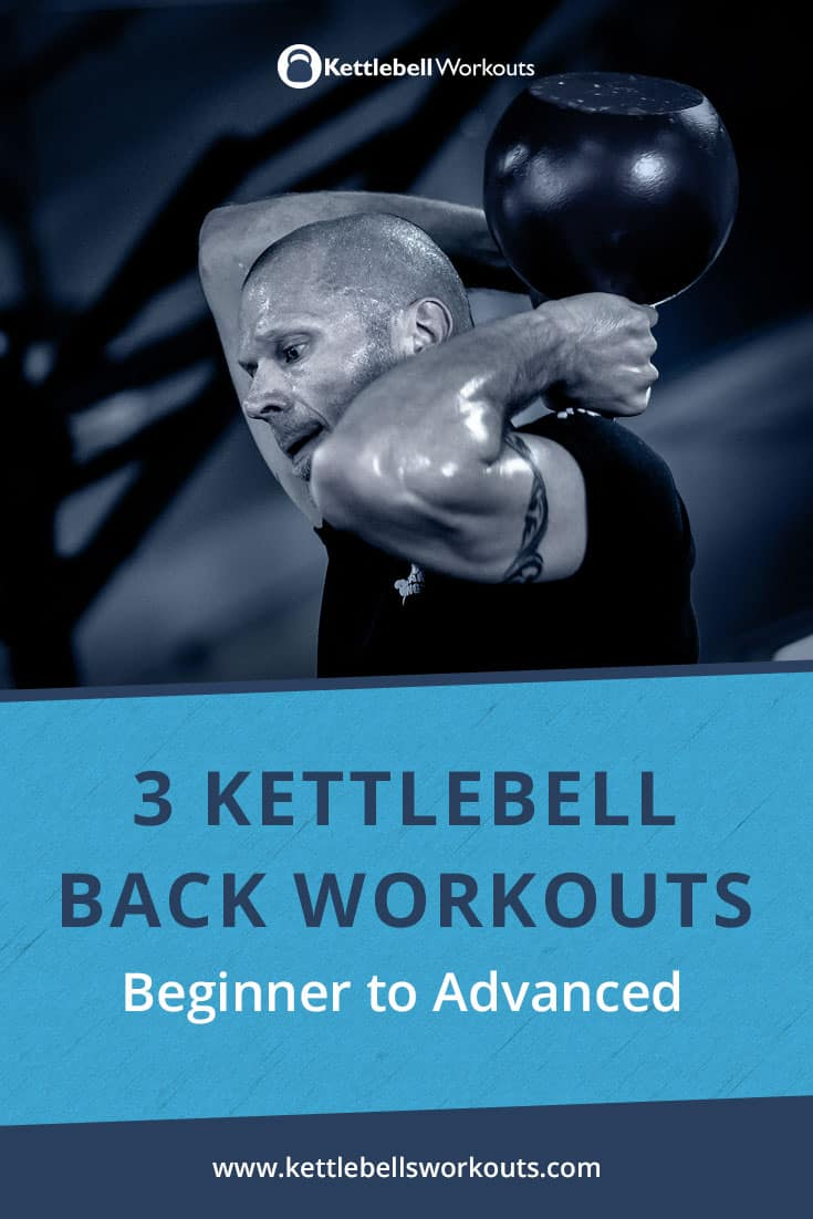 kettlebell back workouts from beginner to advanced