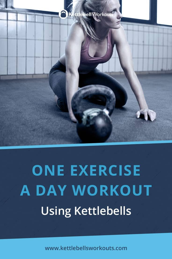 One exercise a day workout