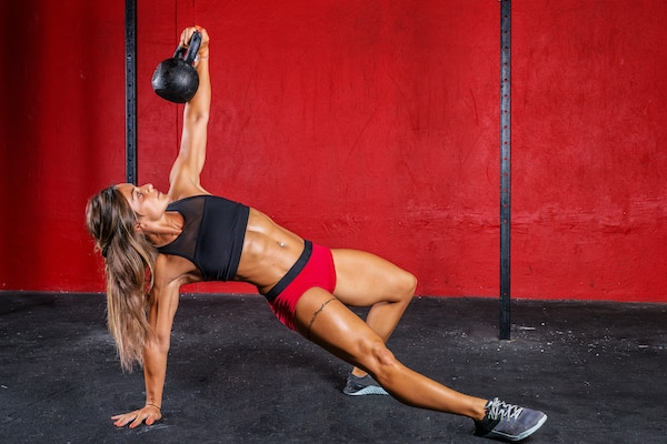 Kettlebells are versatile and take up very little space
