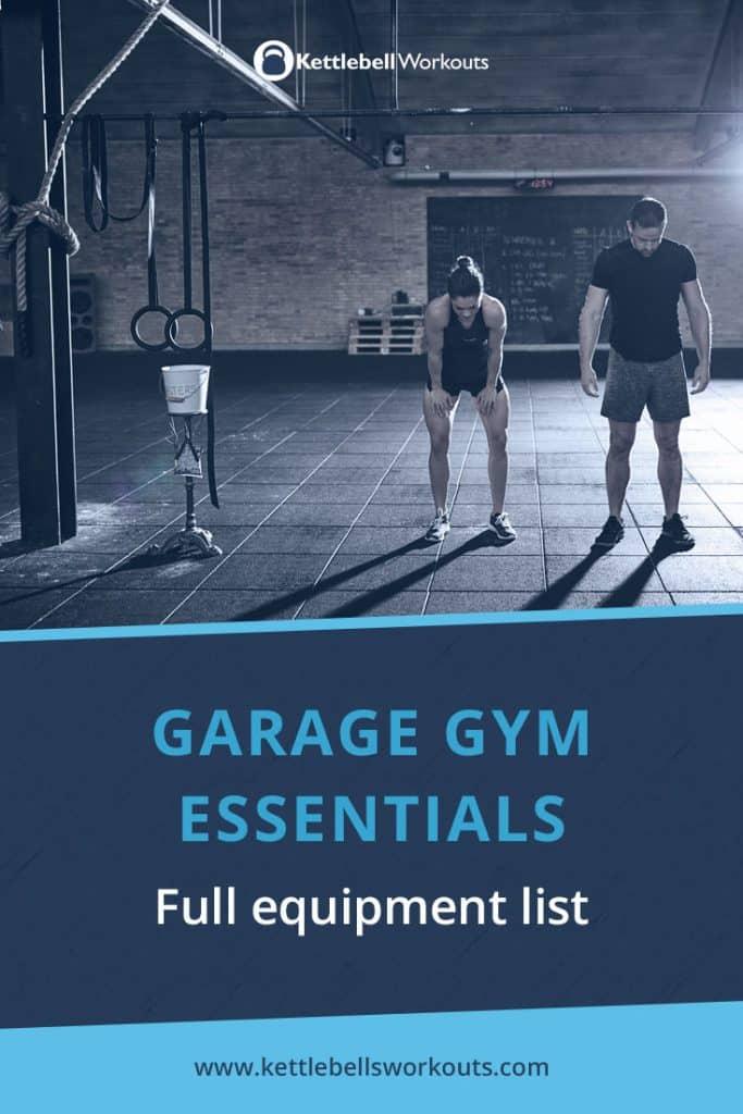 Garage gym essentials