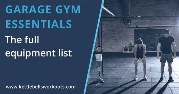 Garage gym essentials list