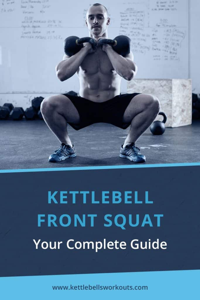 kettlebell front squat exercise guide