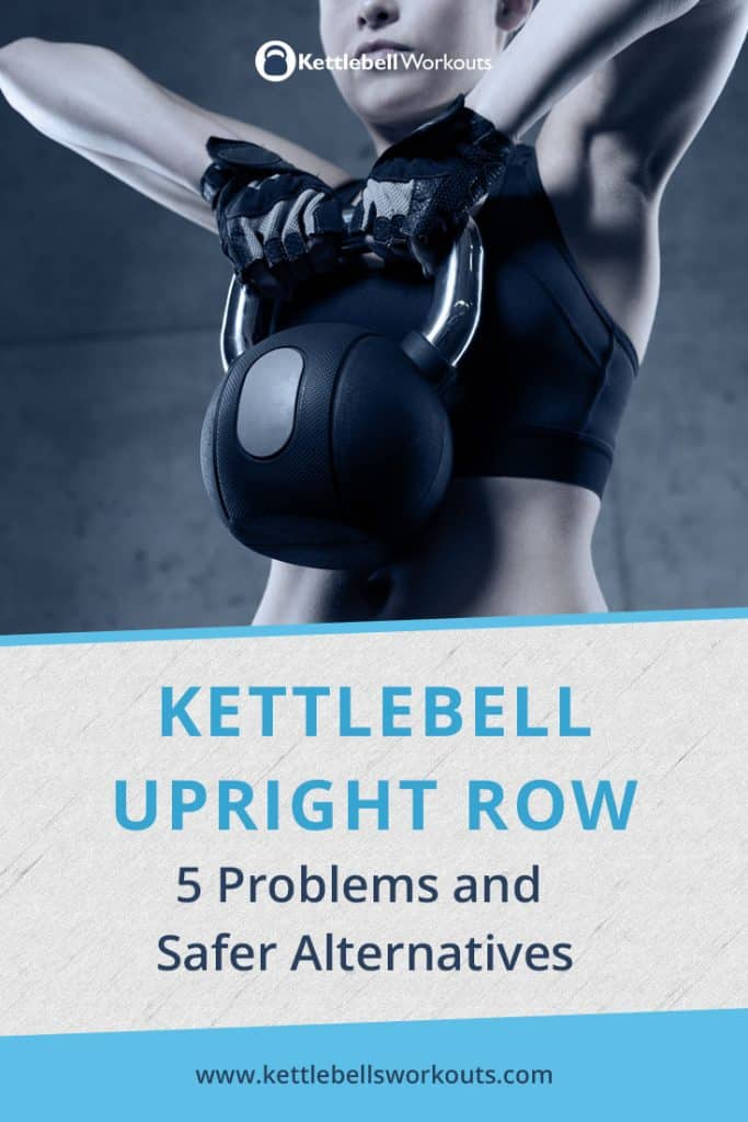Kettlebell Upright Row Exercise