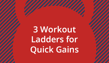 3 Kettlebell Workout Ladders for Muscle